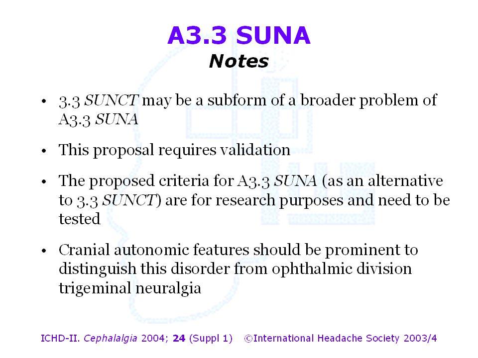 A3.3 SUNA Notes