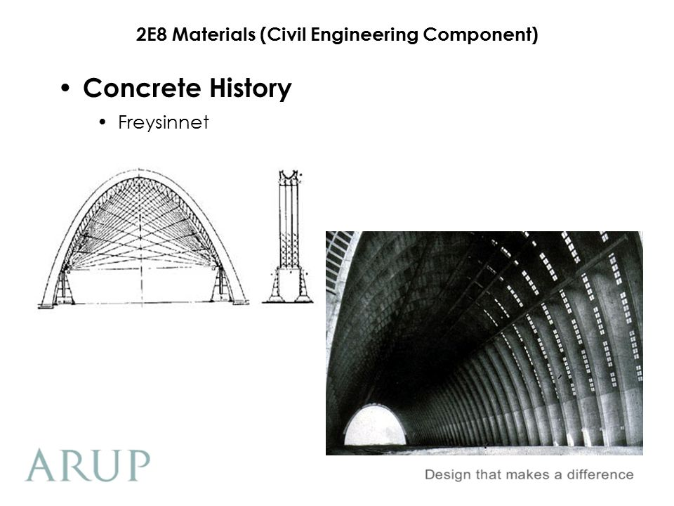 2E8 Materials (Civil Engineering Component) Hoover Dam Concrete History