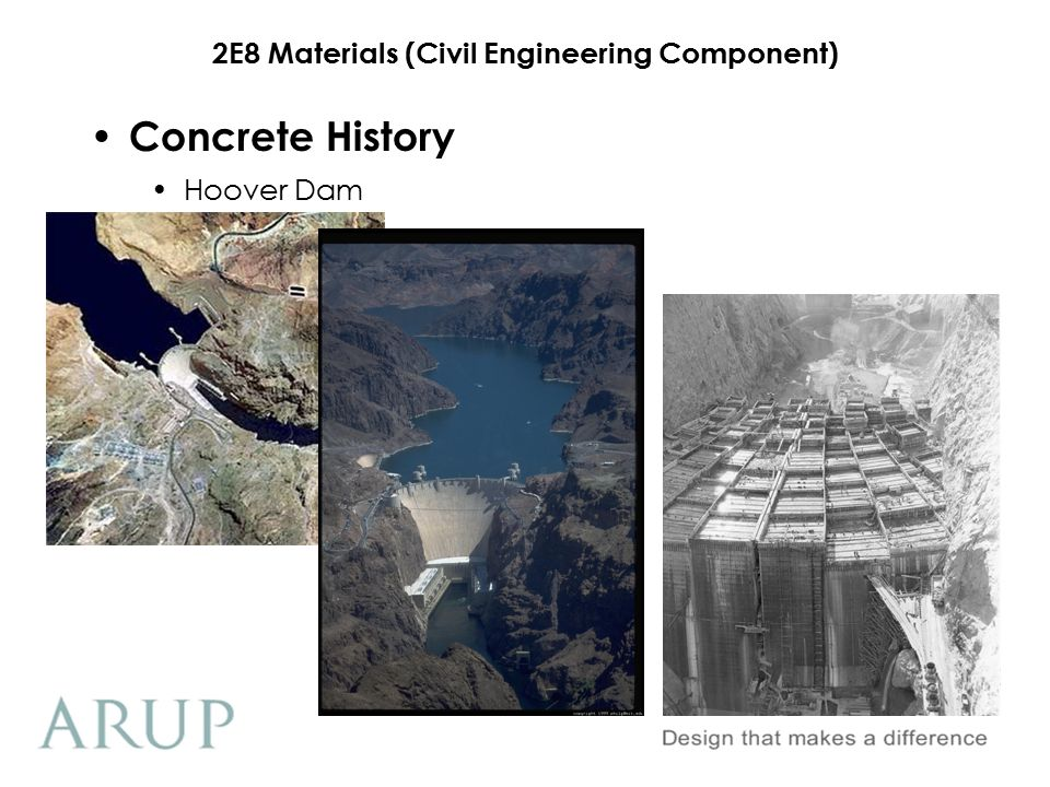 2E8 Materials (Civil Engineering Component) Astrodome Concrete History