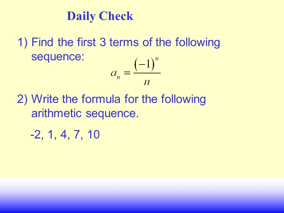Math II UNIT QUESTION: How is a geometric sequence like an exponential function.