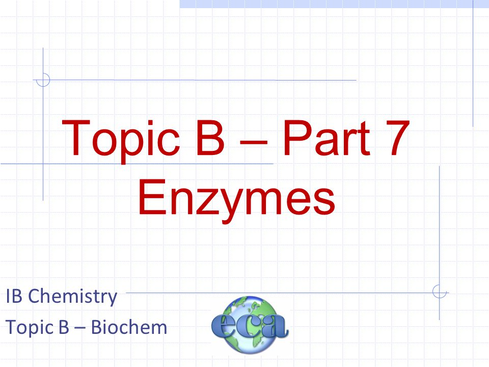 B7 B7.7 – Factors (pH)  Many enzymes work efficiently over only narrow pH values.