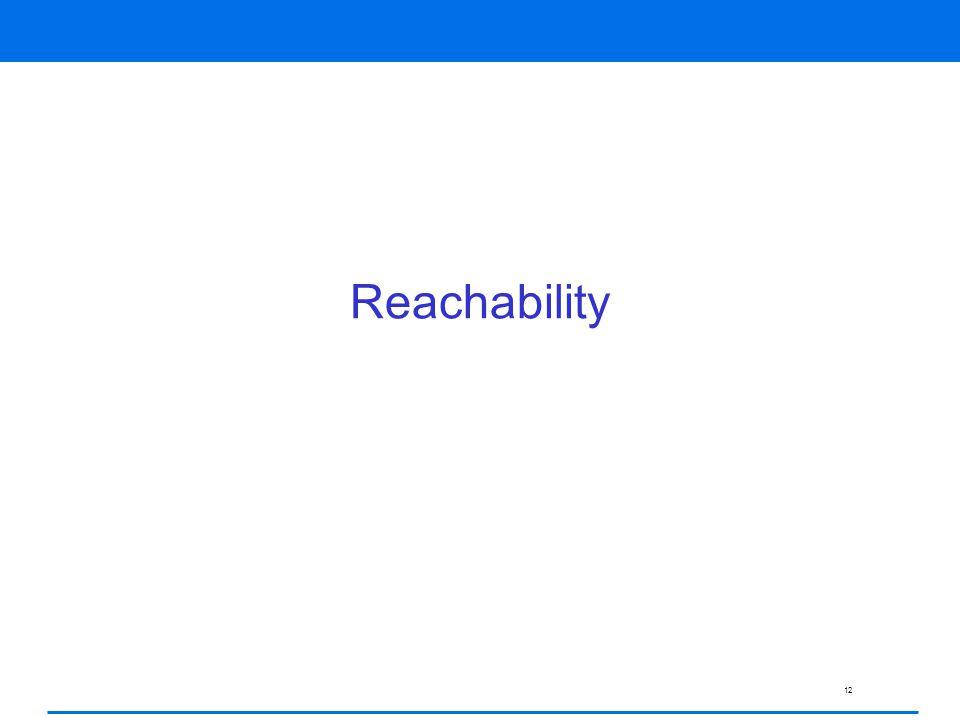 12 Reachability