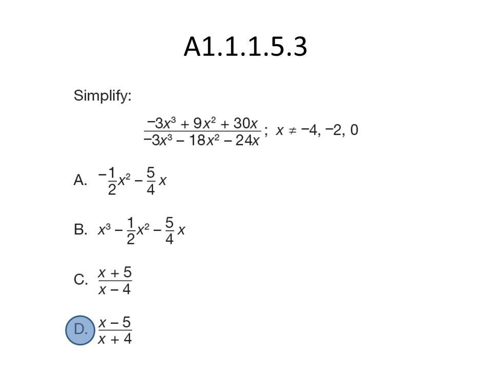 A1.1.1.5.3