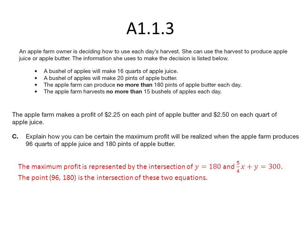 A1.1.3