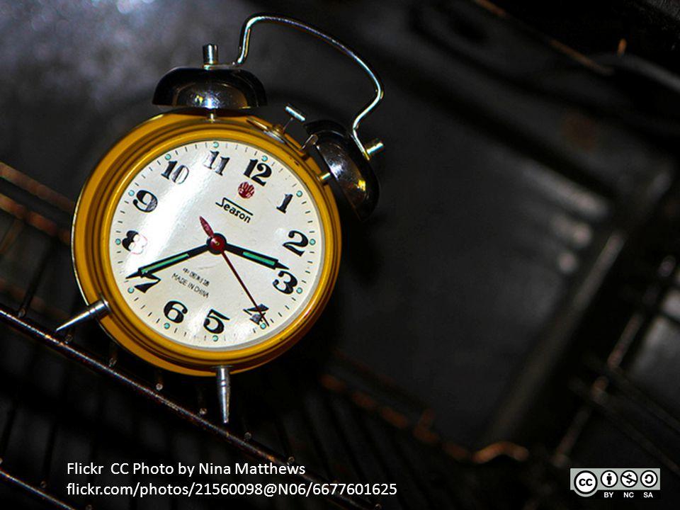 Flickr CC Photo by Nina Matthews flickr.com/photos/21560098@N06/6677601625 -