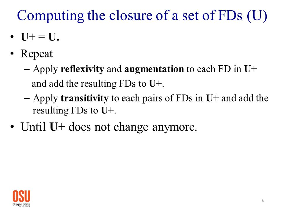 Useful rules They are derived from axioms and we may use them to derive implied FDs faster.
