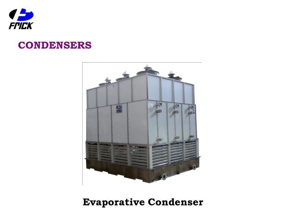 CONDENSERS Evaporative Condenser
