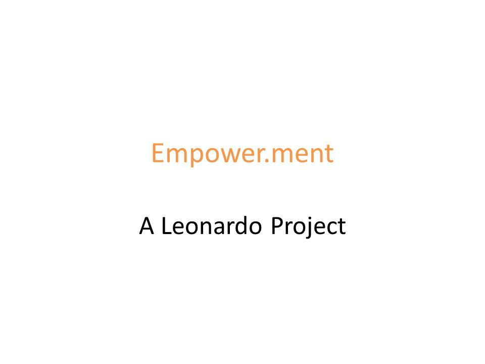 Empower.ment A Leonardo Project