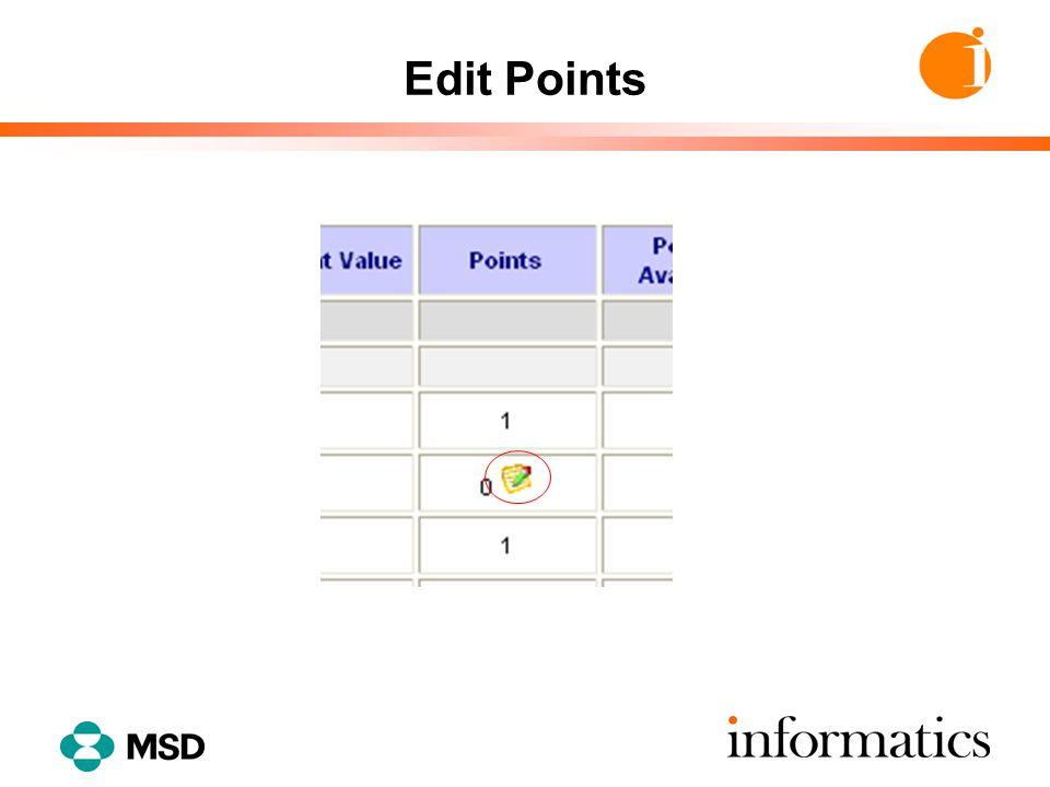 Edit Points