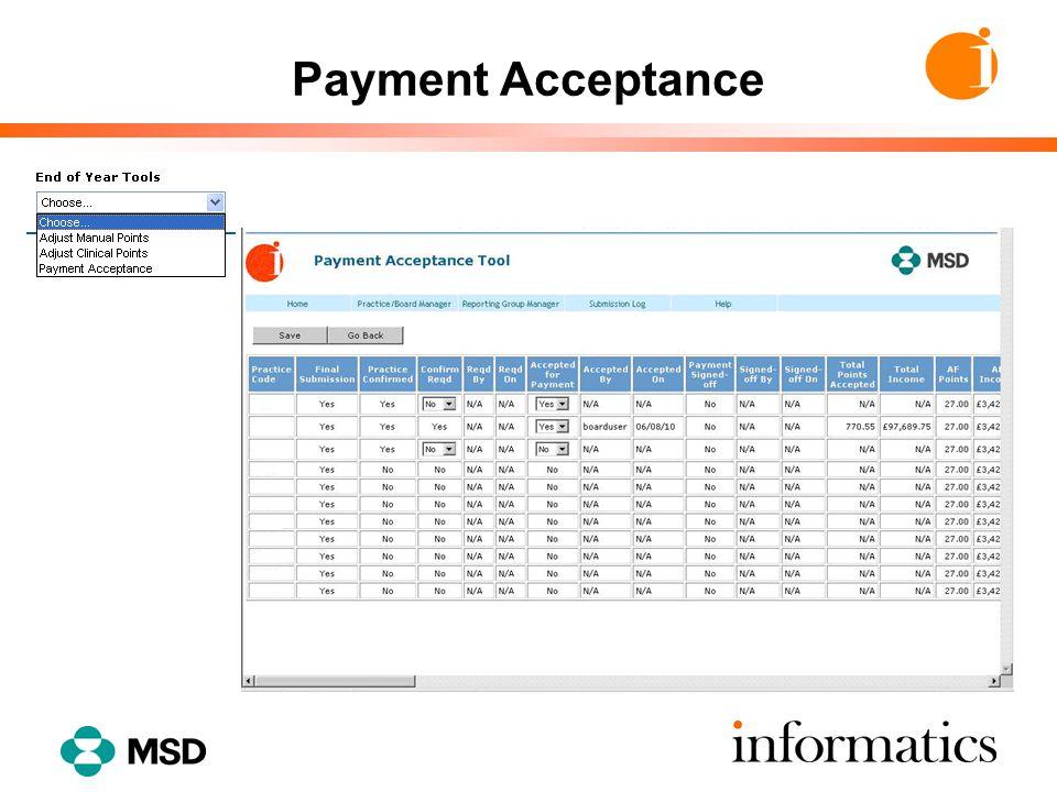 Payment Authorisation