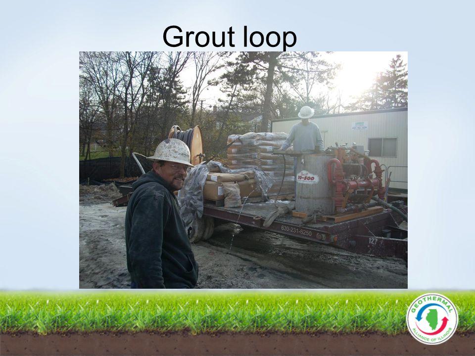 Grout loop