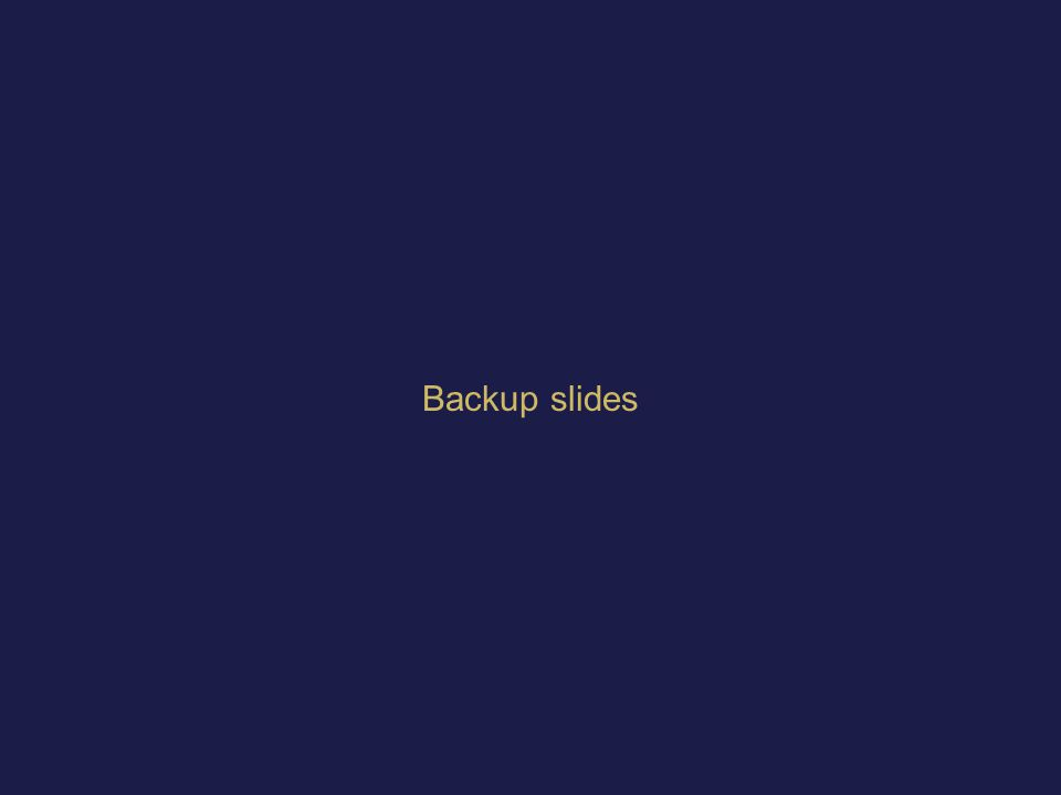 61Microsoft Confidential  Backup slides beyond this point Backup slides