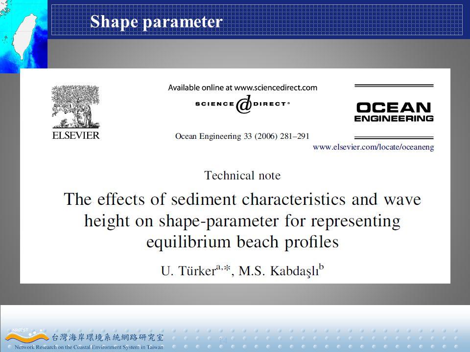 14 Shape parameter
