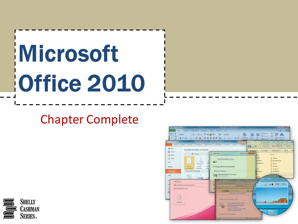 Chapter Complete Microsoft Office 2010