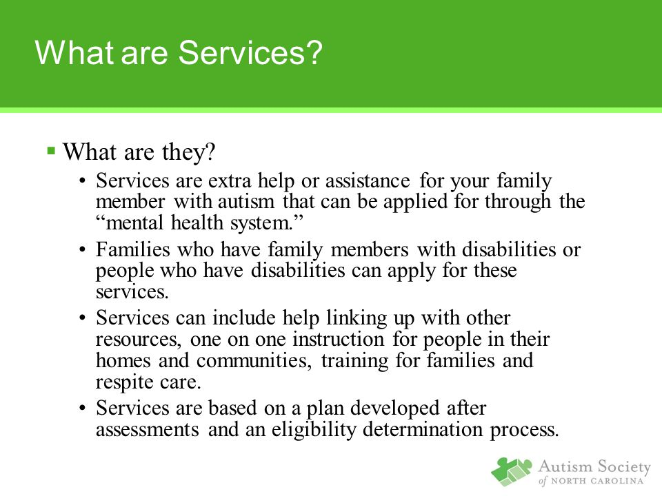 What are Services. What are they.