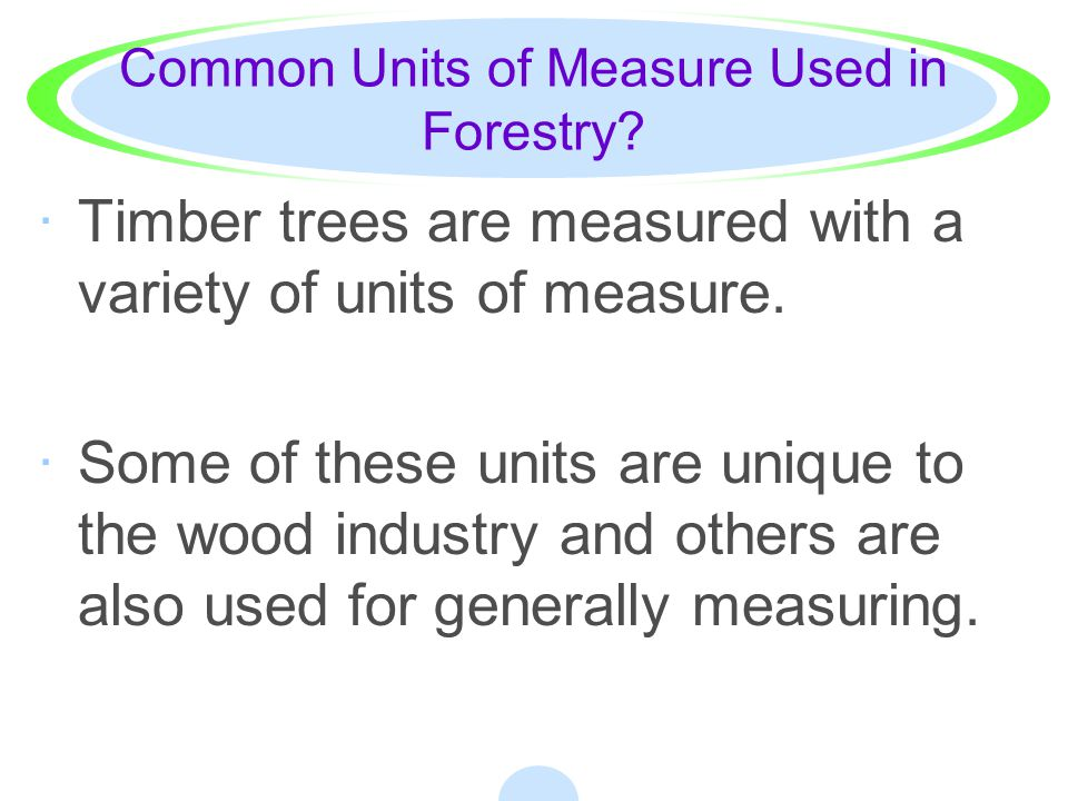 How do I measure the height of standing trees.·A.