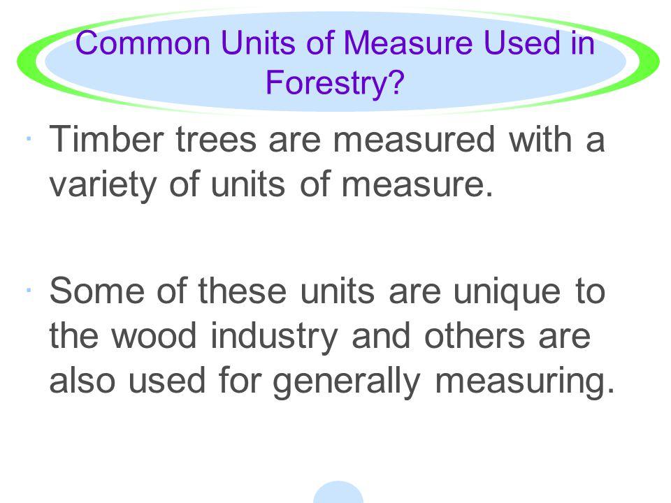 How do I determine the diameter of a standing tree.