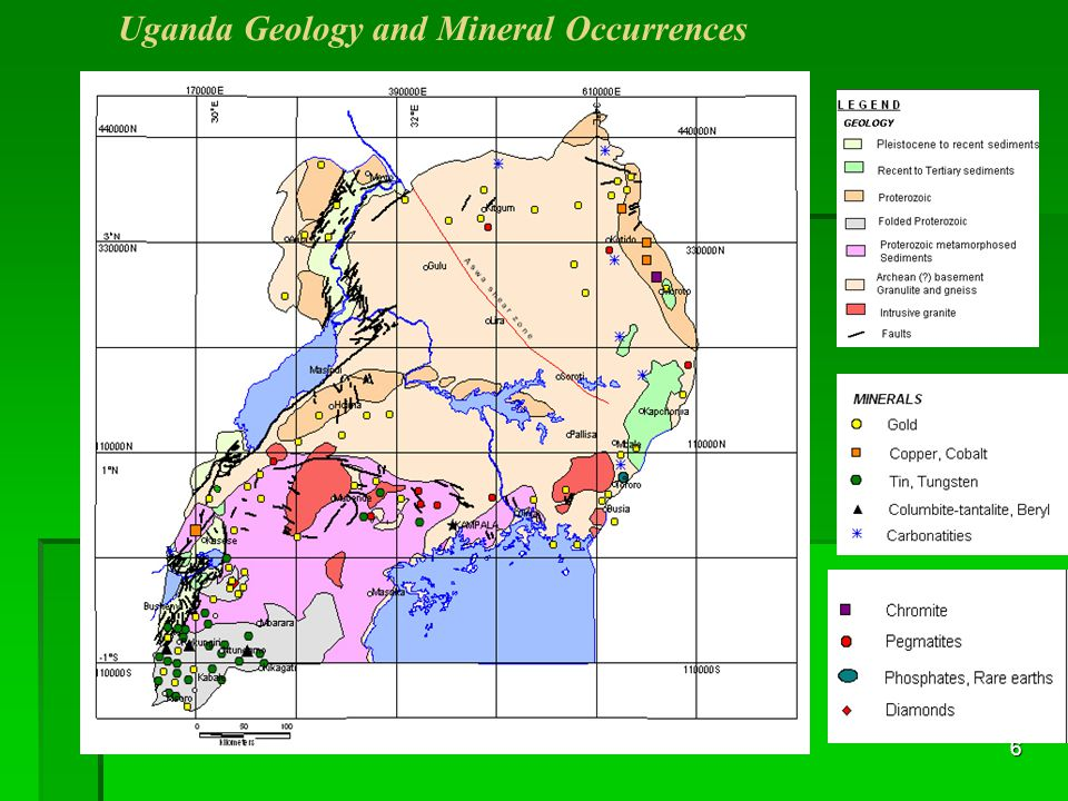 6 Uganda Geology and Mineral Occurrences