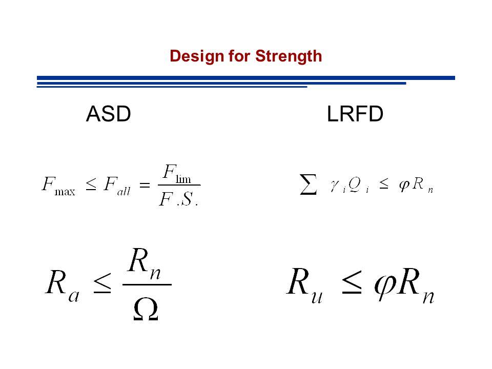 Design for Strength ASDLRFD