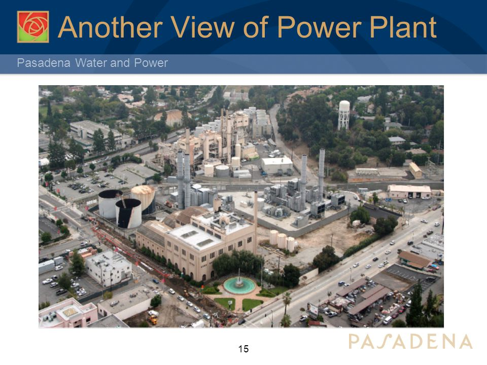 Pasadena Water and Power Another View of Power Plant 15