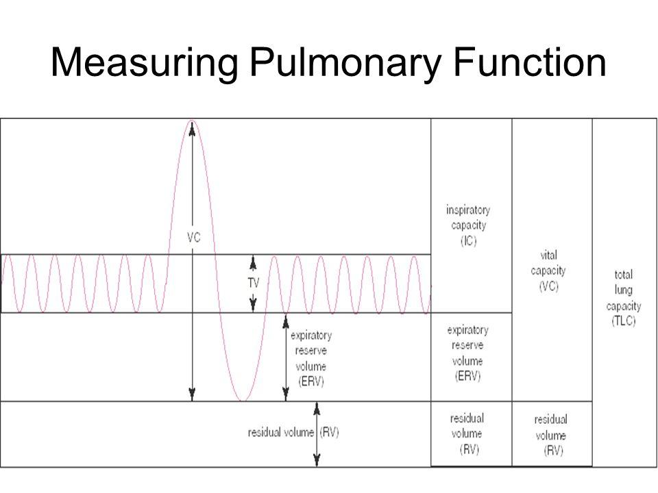 Measuring Pulmonary Function