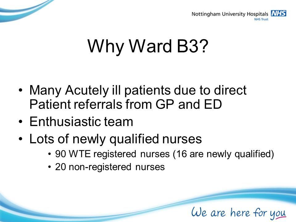 Why Ward B3.