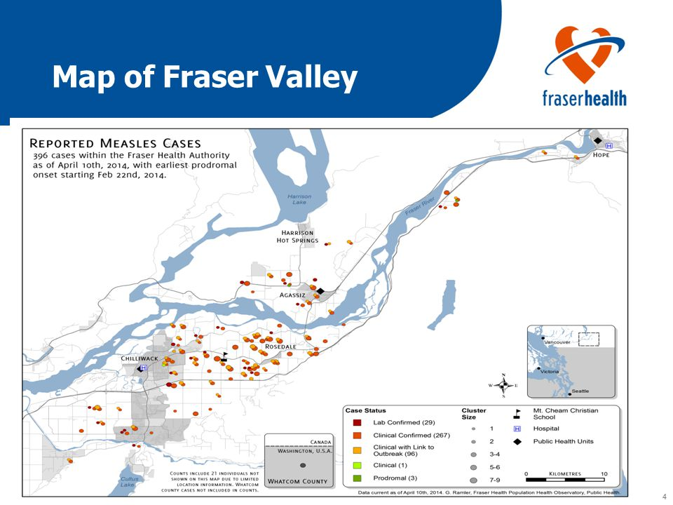 4 4 Map of Fraser Valley