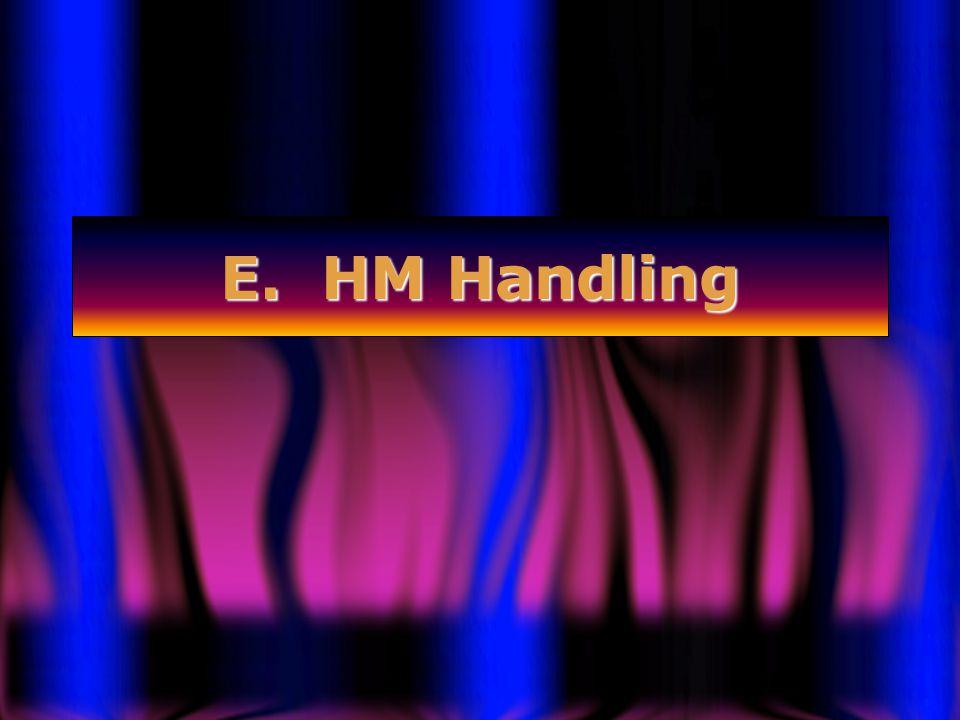 E. HM Handling