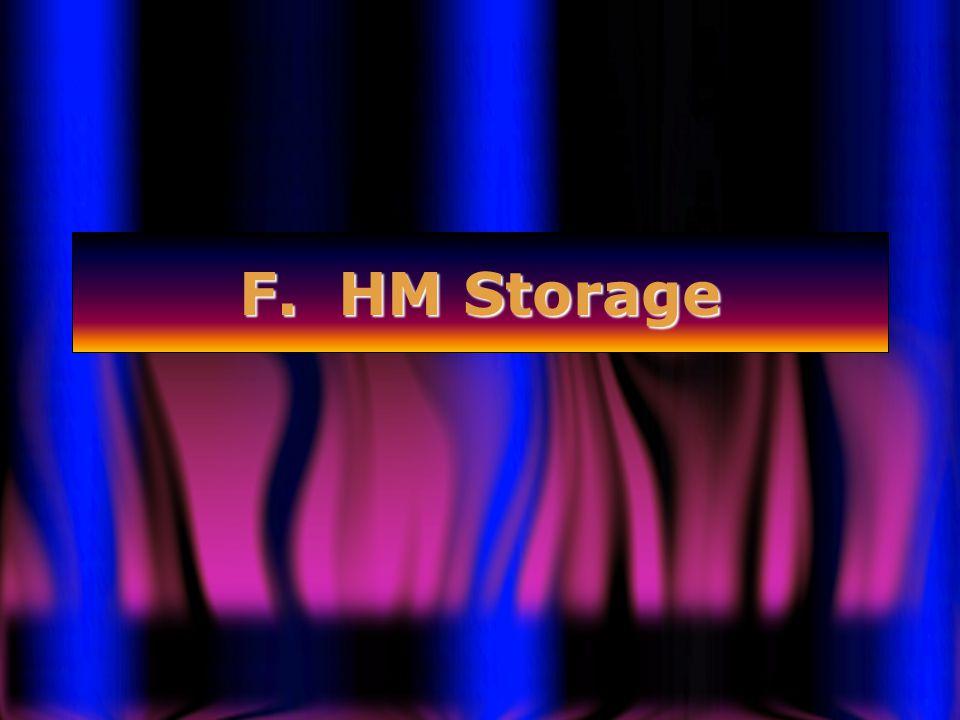 F. HM Storage