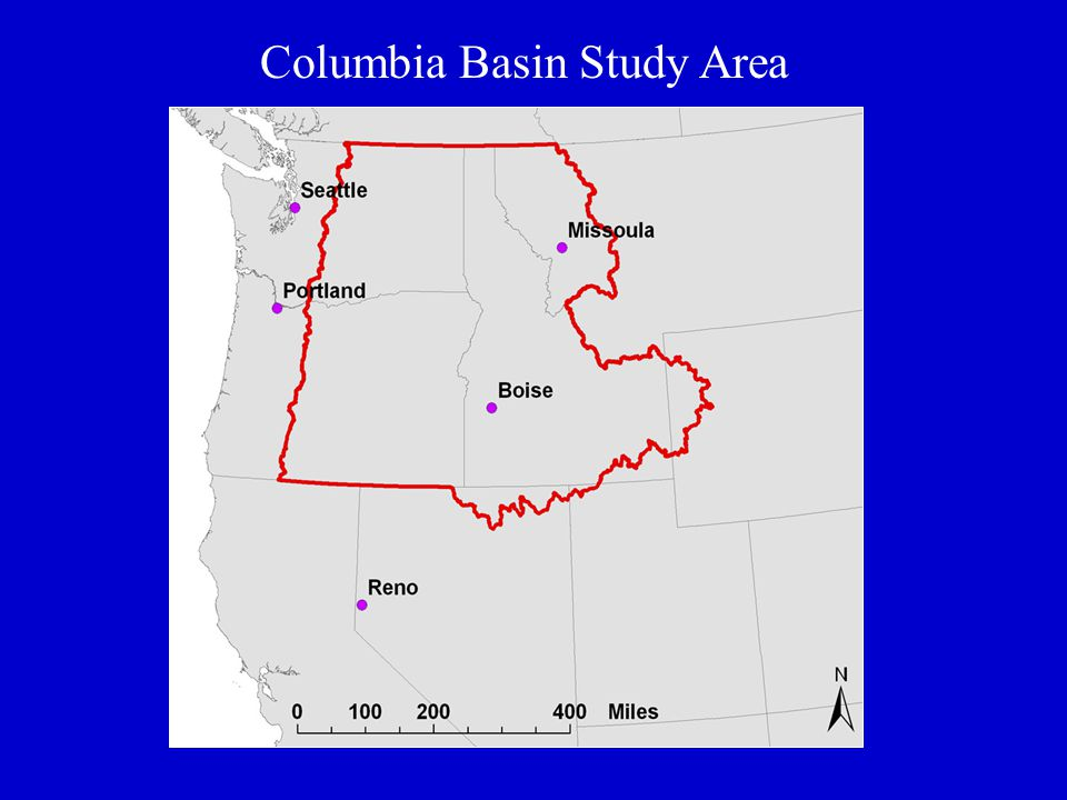 Columbia Basin Study Area