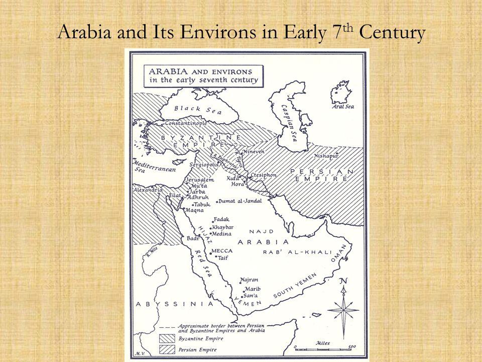 Arabia and the Near East