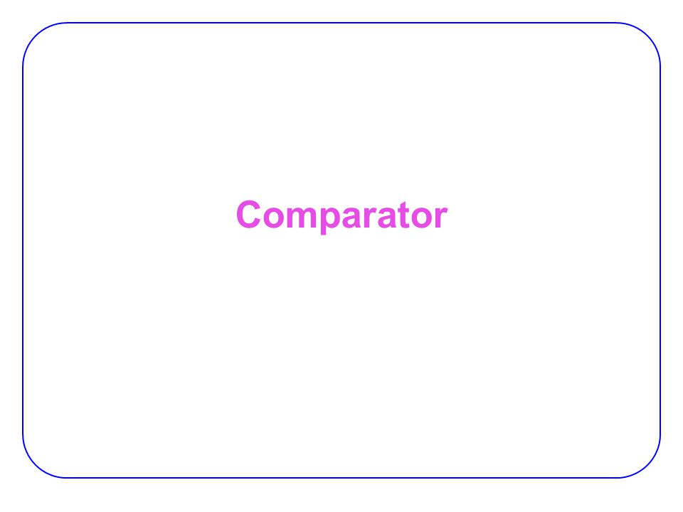 12 Magnitude Comparator If A = 1011 and B = 1010 is A > B.