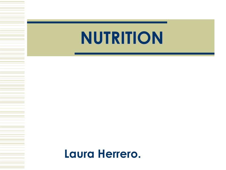 NUTRITION Laura Herrero.