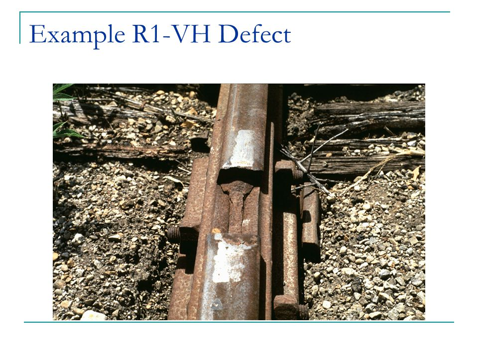 Example R1-VH Defect