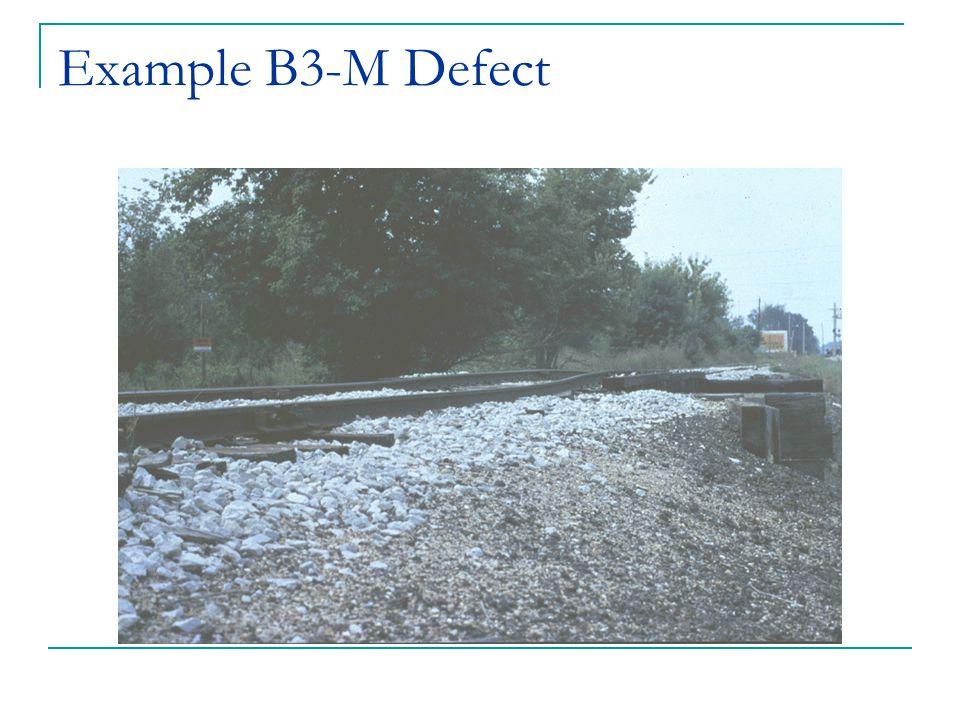 Example B3-M Defect