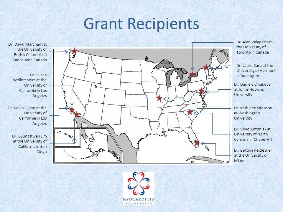 Grant Recipients Dr. Daniela Cihakova at Johns Hopkins University Dr.