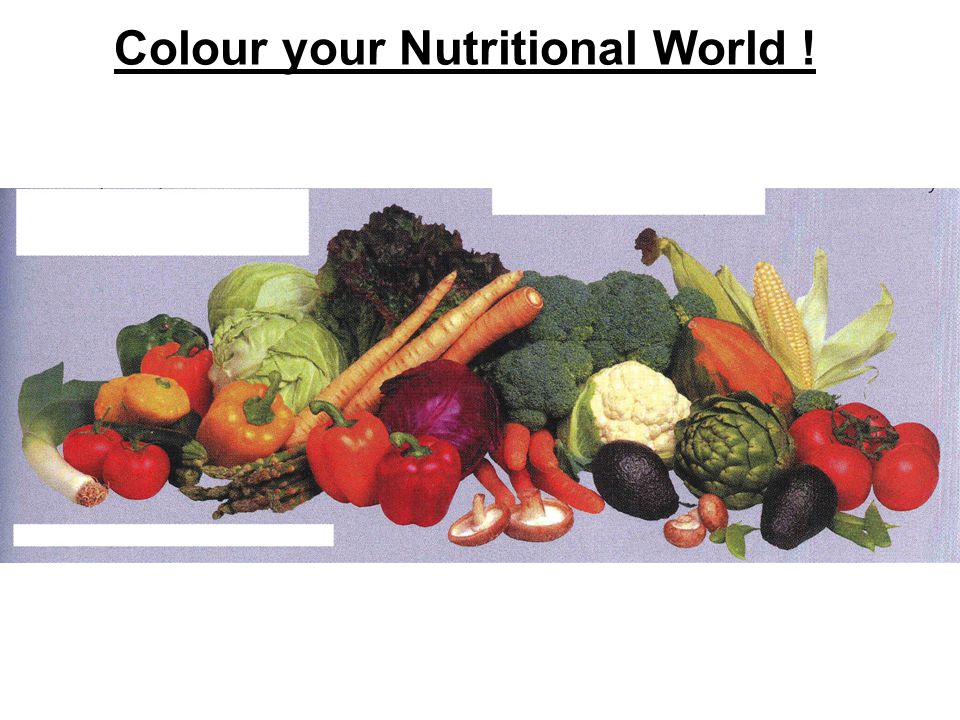 Colour your Nutritional World !