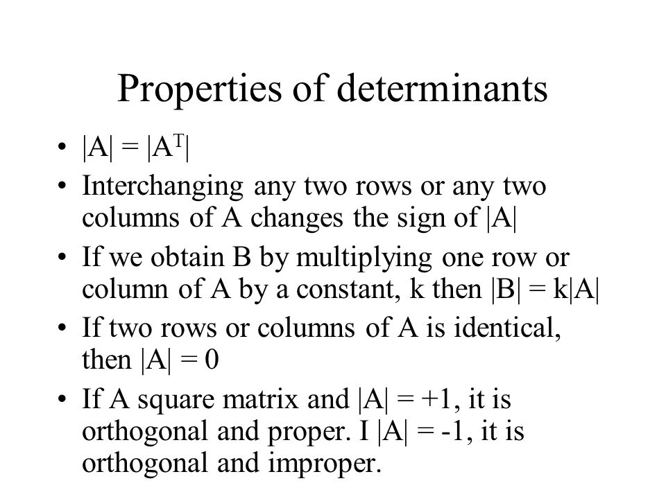 Matrix inversion The inverse of a square matrix A is A -1 AA -1 = A -1 A = I If an inverse exists, the matrix is said to be a nonsingular matrix, otherwise the matrix is called a singular matrix.