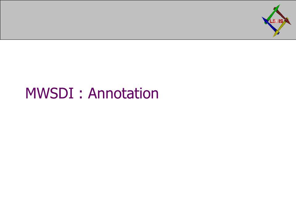 MWSDI : Annotation