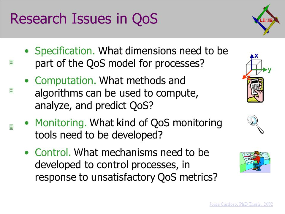 Research Issues in QoS Specification.