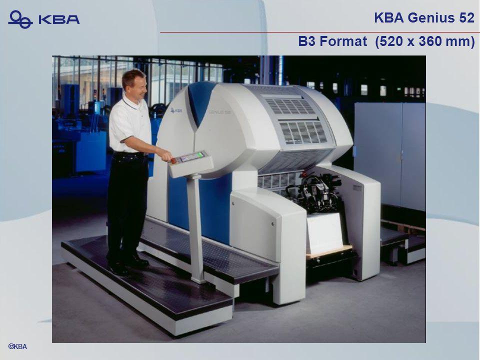  KBA KBA Genius 52 B3 Format (520 x 360 mm)