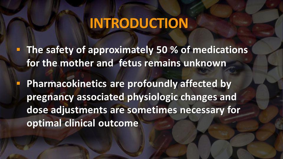 DRUGS USED COMMONLY IN PREGNANCY  ANTIBIOTICS:  Cephalosporins  Fluoroquinolones  Macrolides  Aminoglycosides  Miscellaneous