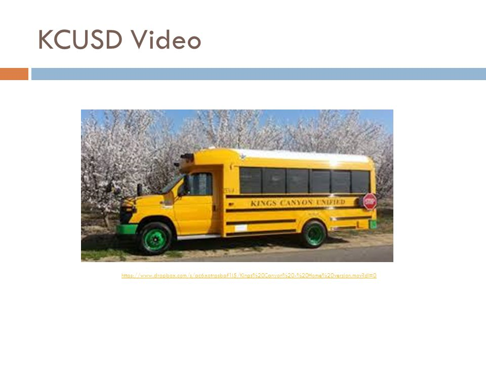 KCUSD Video https://www.dropbox.com/s/ac6xotrpsbaf1i5/Kings%20Canyon%20-%20Home%20version.mov dl=0