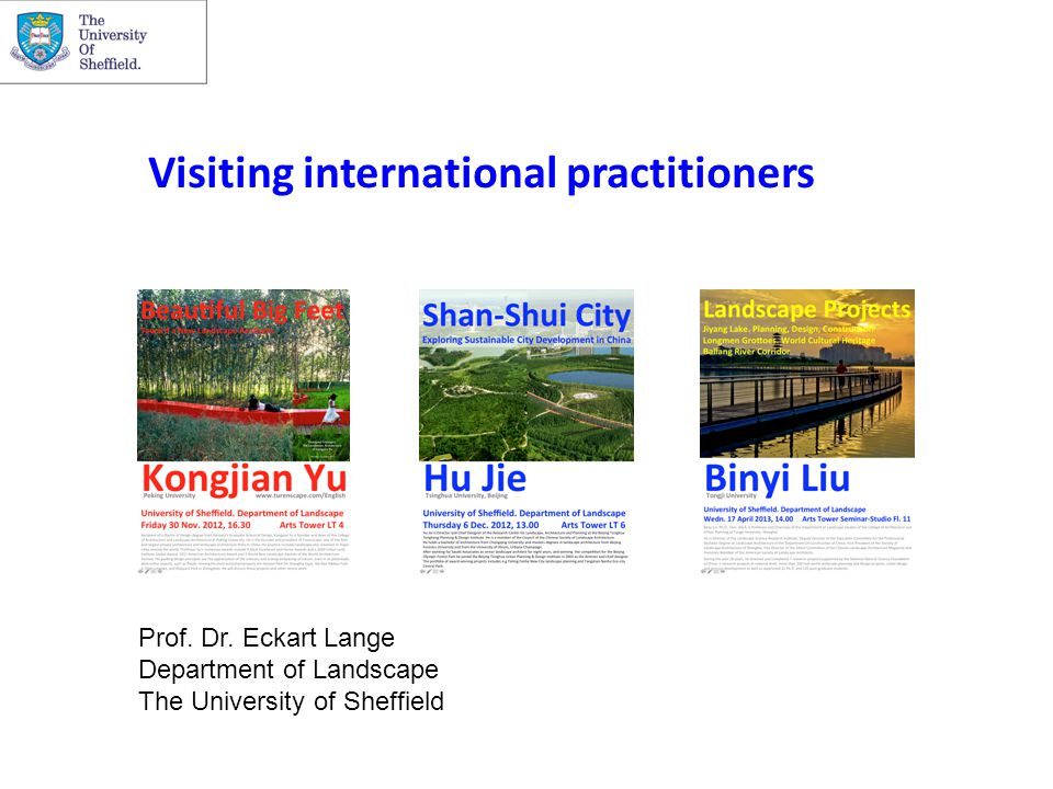 Visiting international practitioners Prof. Dr.