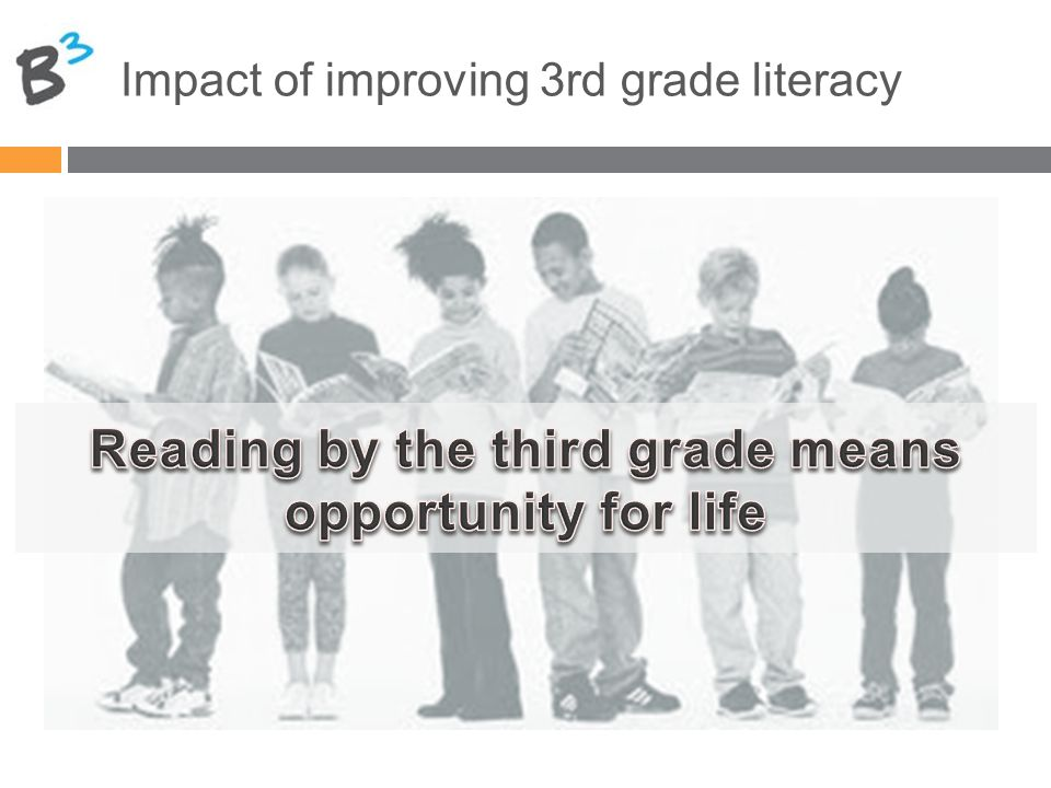 Impact of improving 3rd grade literacy
