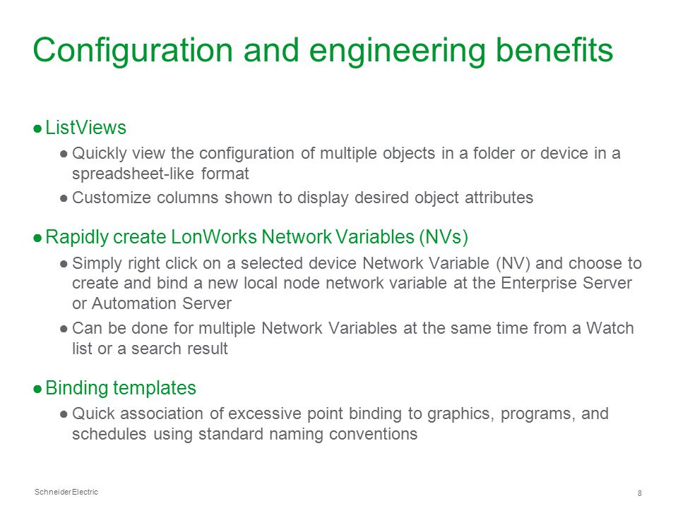 Schneider Electric 19 Standard Graphics Components Library ●Available today.