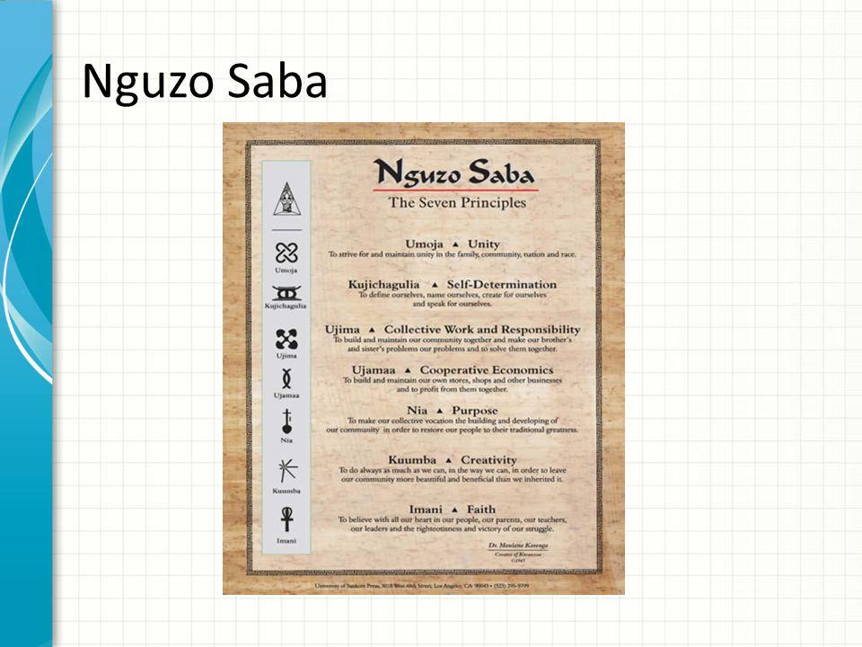 Nguzo Saba