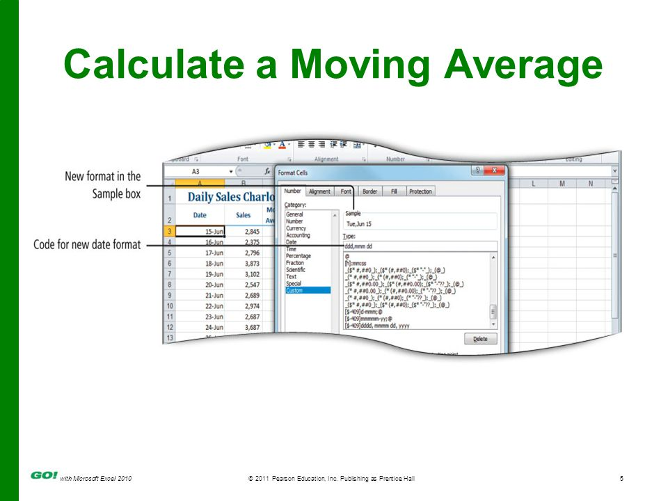 with Microsoft Excel 2010 © 2011 Pearson Education, Inc.