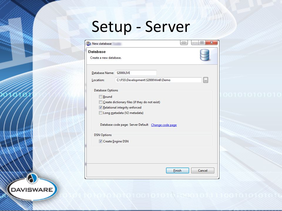 Setup - Server