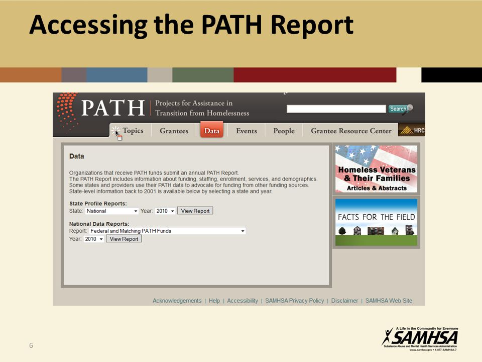 27 The Future of PATH Reporting